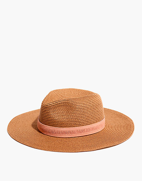 3d136e8377ad0 Packable Mesa Straw Hat in burnt clay image 1