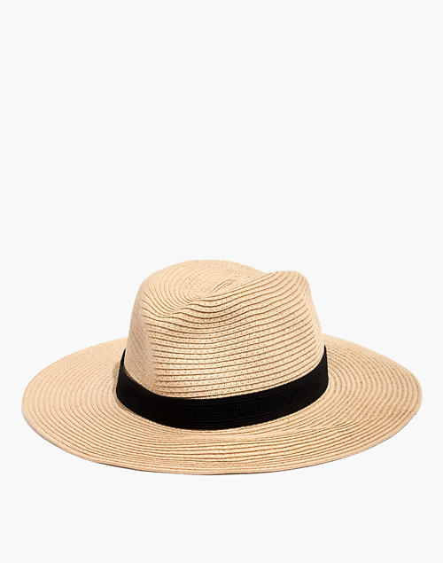 e2085ac486889 Packable Mesa Straw Hat in natural straw image 1
