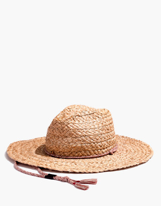 Madewell x Biltmore® Braided Fedora Hat