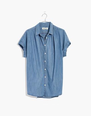 Central Shirt in Roberta Indigo in roberta wash image 4