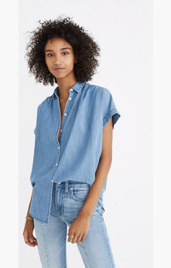 Central Shirt in Roberta Indigo