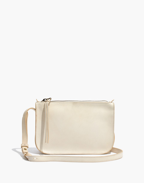 The Simple Crossbody Bag in vintage canvas image 1