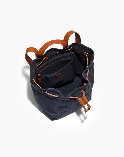 The Canvas Somerset Backpack in black sea image 2