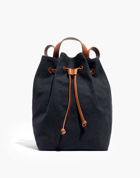 The Canvas Somerset Backpack in black sea image 1