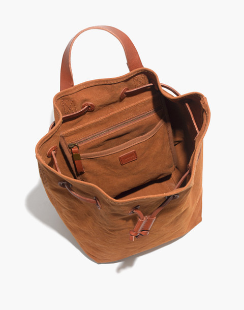 The Canvas Somerset Backpack in acorn image 3