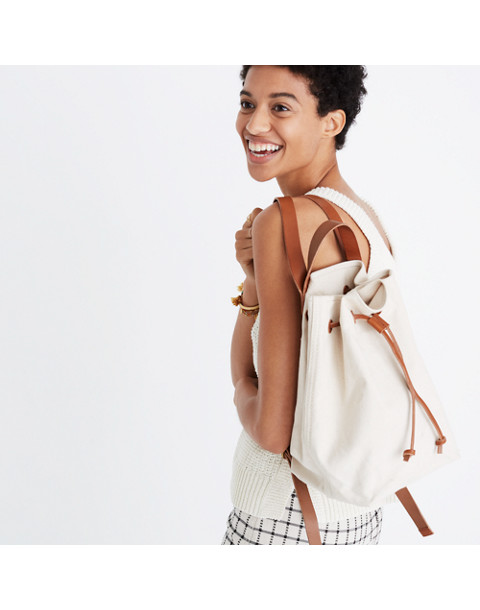 The Canvas Somerset Backpack in acorn image 2