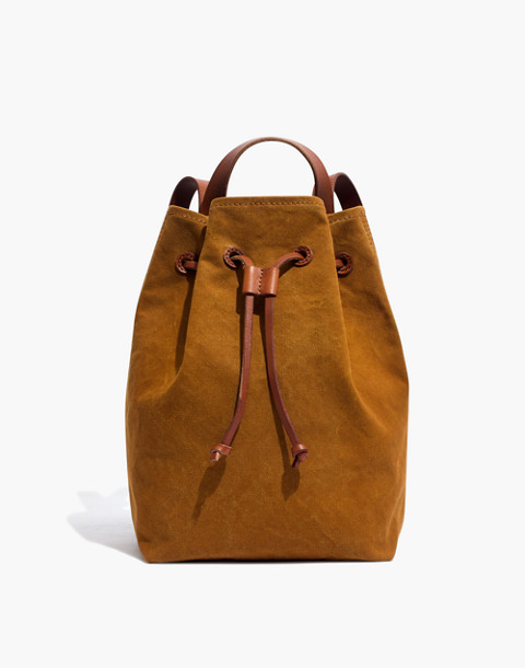 The Canvas Somerset Backpack in acorn image 1