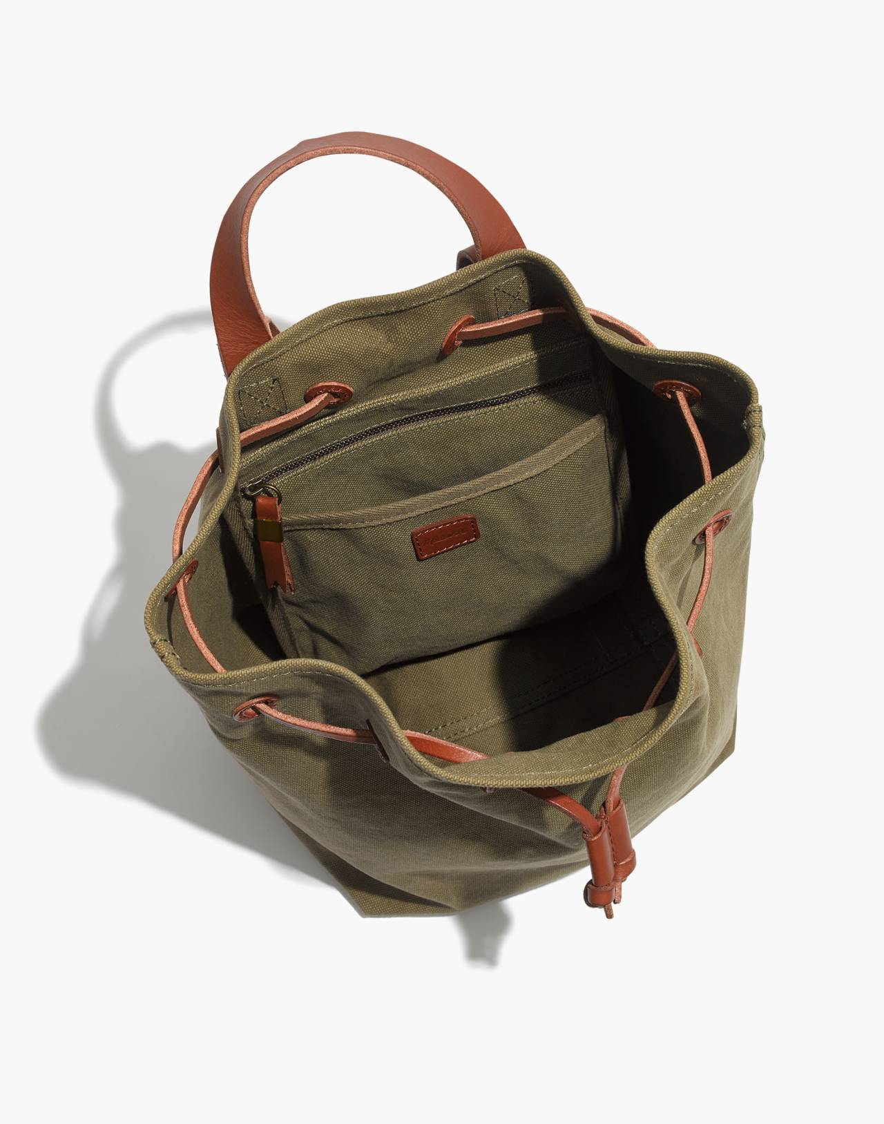 The Canvas Somerset Backpack in british surplus image 3