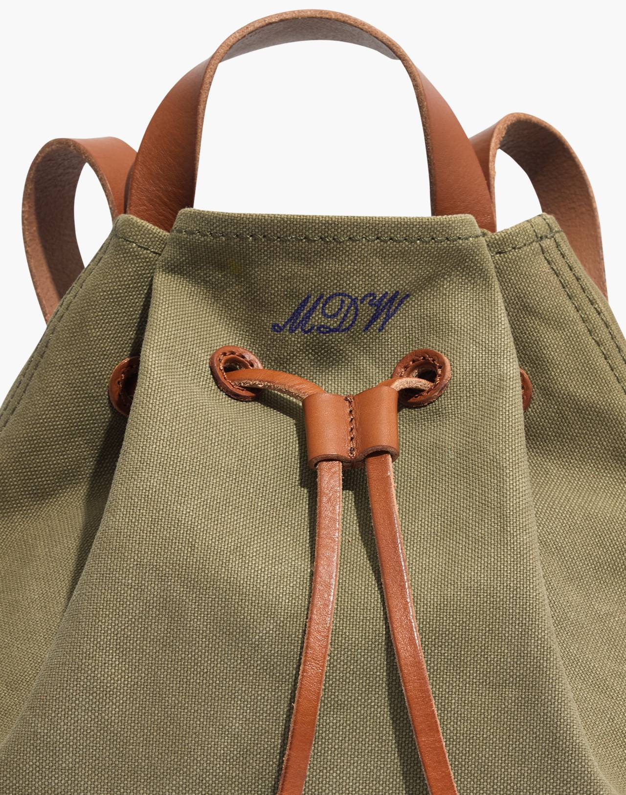 The Canvas Somerset Backpack in british surplus image 4