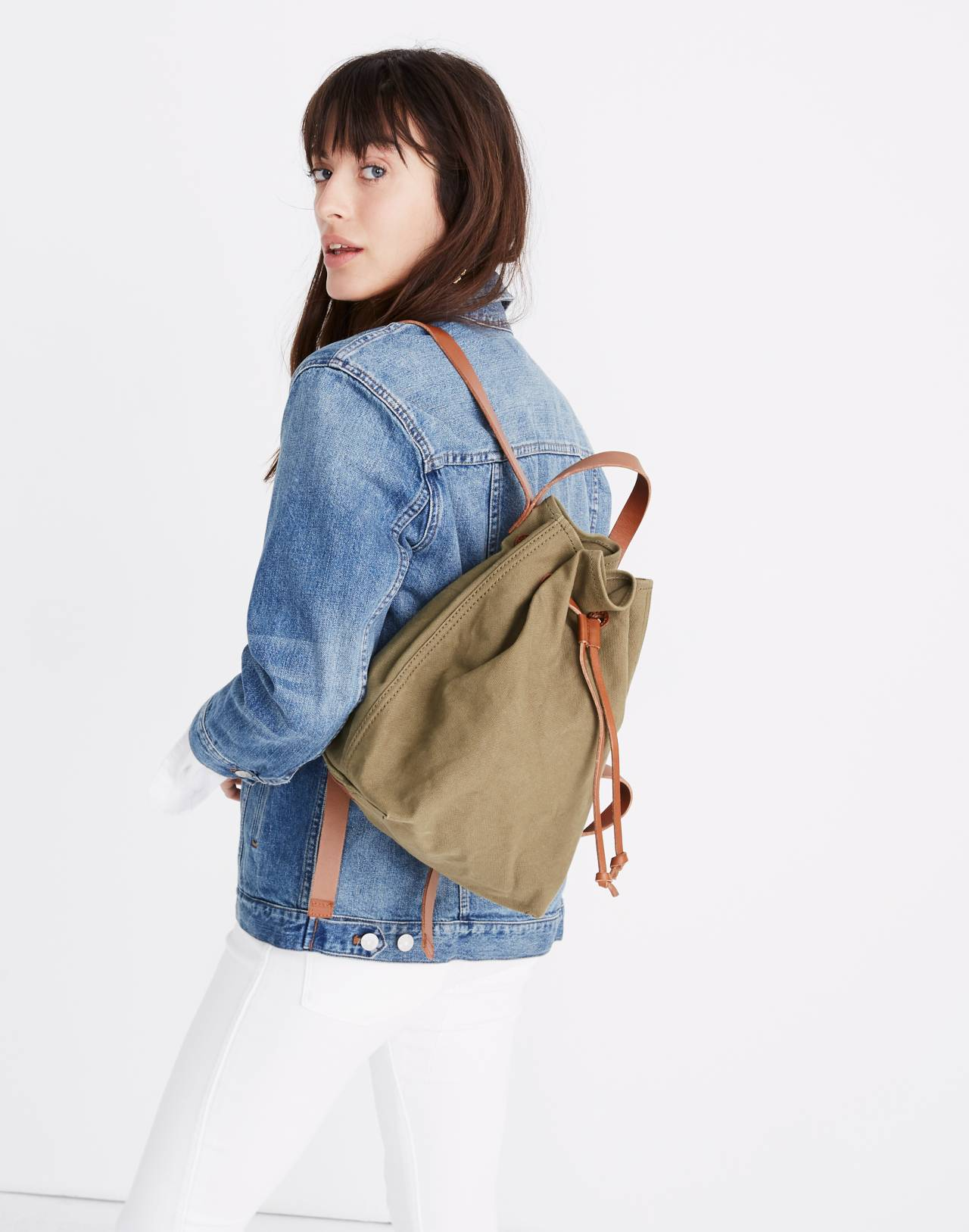 The Canvas Somerset Backpack in british surplus image 2