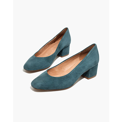 The Raquel Pump in Suede