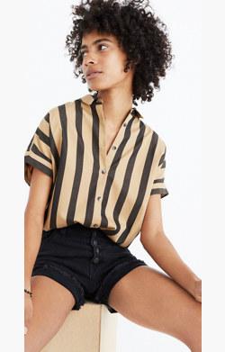 Central Shirt in Edna Stripe