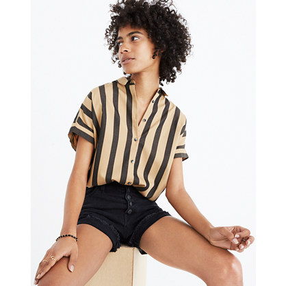 Central Shirt in Edna Stripe
