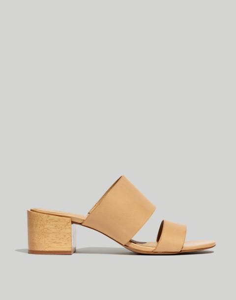 The Kiera Mule Sandal in vintage beige image 3