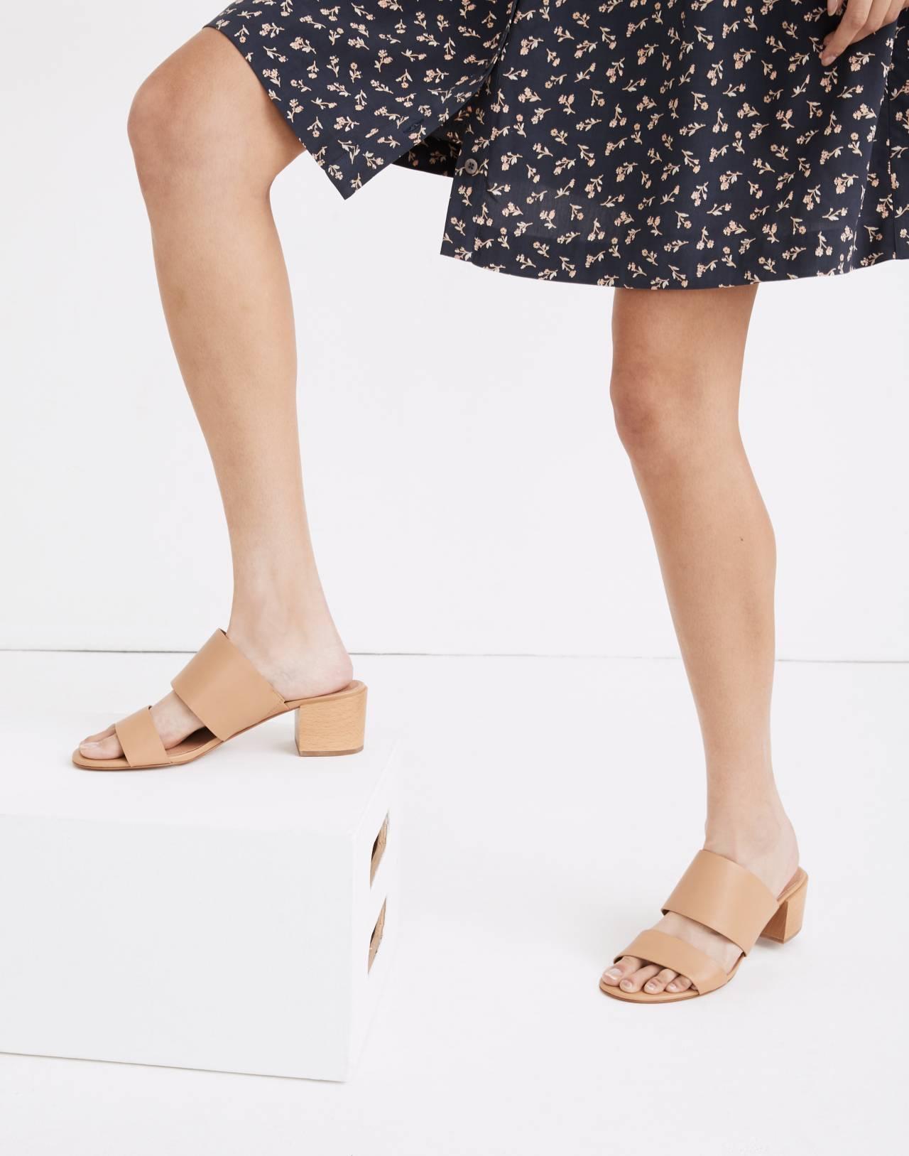 The Kiera Mule Sandal in vintage beige image 2