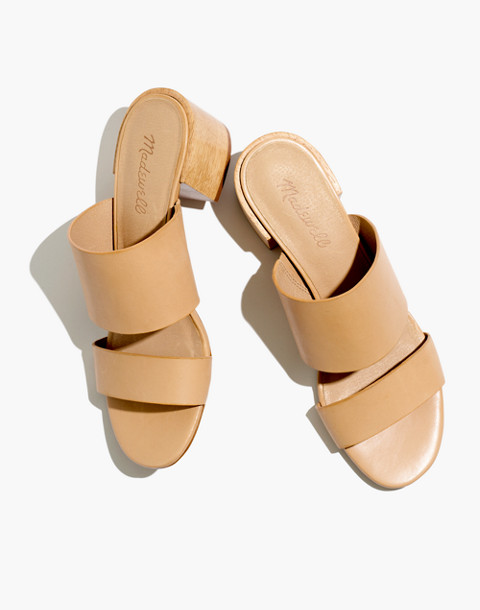 The Kiera Mule Sandal in vintage beige image 1