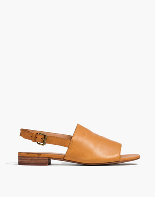 The Noelle Slingback Sandal in Leather