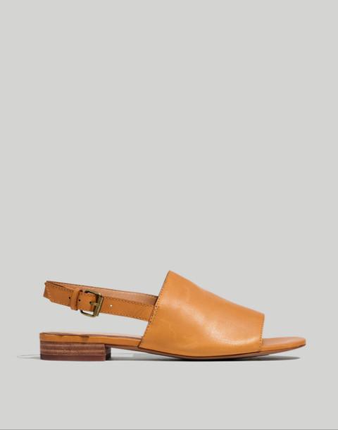 The Noelle Slingback Sandal in Leather in desert camel image 3