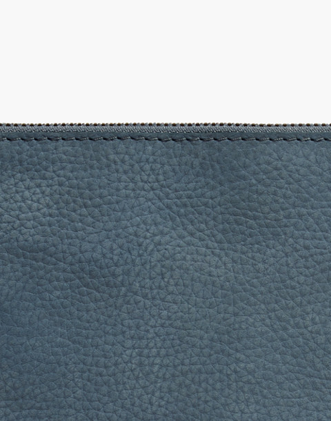 The Leather Pouch Clutch in Nubuck