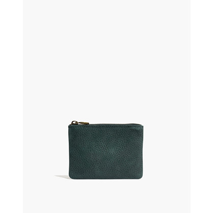 The Leather Pouch Wallet in Nubuck