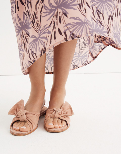 The Naida Half-Bow Sandal