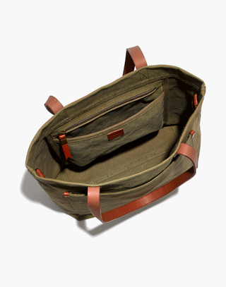 The Canvas Medium Transport Tote in british surplus image 3