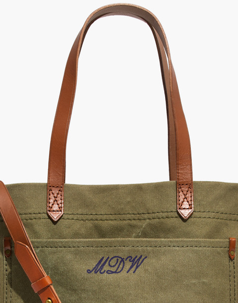 The Canvas Medium Transport Tote in british surplus image 4