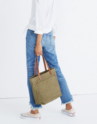 The Canvas Medium Transport Tote in british surplus image 2