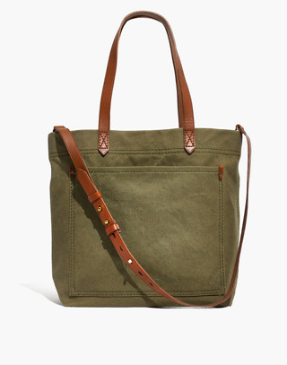 The Canvas Medium Transport Tote in british surplus image 1