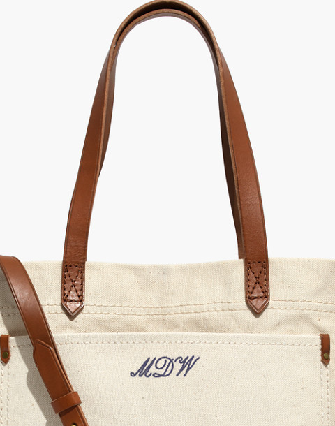 The Canvas Medium Transport Tote in vintage canvas image 3