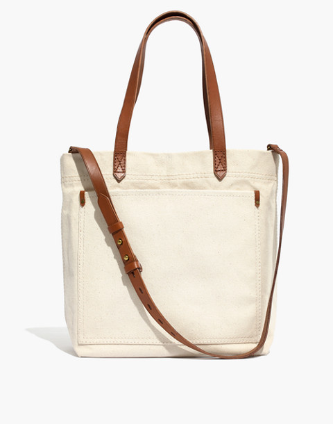 The Canvas Medium Transport Tote in vintage canvas image 1