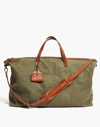 The Transport Weekender in Canvas in british surplus image 1