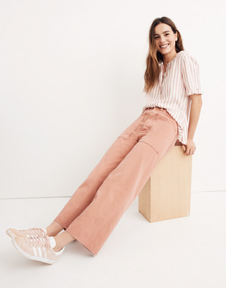 Madewell x As Ever™ Brancusi Pants in dried coral image 2
