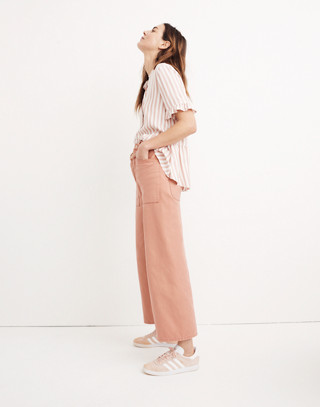 Madewell x As Ever™ Brancusi Pants in dried coral image 3