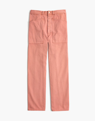 Madewell x As Ever™ Brancusi Pants in dried coral image 4