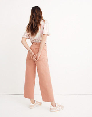 Madewell x As Ever™ Brancusi Pants in dried coral image 1