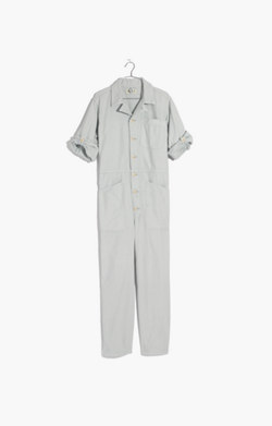 Pre-order Madewell x As Ever™ Short-Sleeve Coveralls