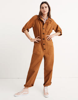 Madewell x As Ever™ Short-Sleeve Coveralls