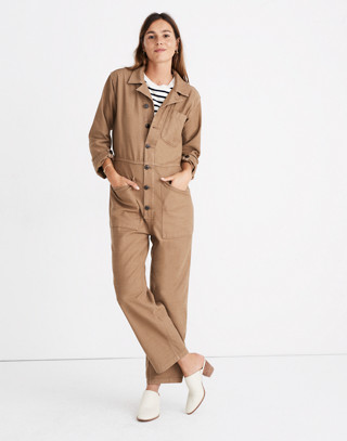 Madewell x As Ever™ Coveralls in weathered olive image 2