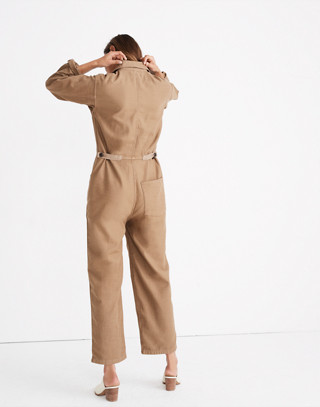 Madewell x As Ever™ Coveralls in weathered olive image 3