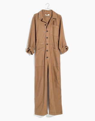 Madewell x As Ever™ Coveralls in weathered olive image 4