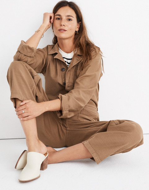 Madewell x As Ever™ Coveralls in weathered olive image 1