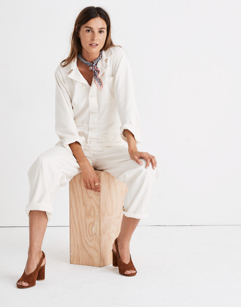 Madewell x As Ever™ Coveralls in cloud lining image 2