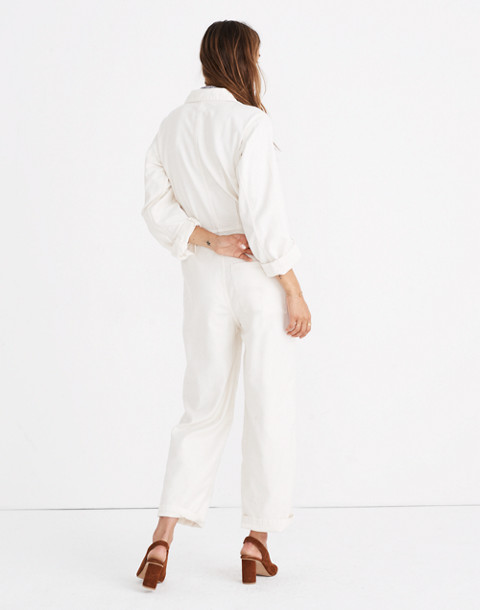 Madewell x As Ever™ Coveralls in cloud lining image 3