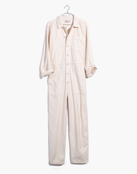 Madewell x As Ever™ Coveralls in cloud lining image 4