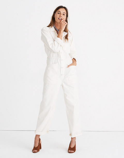 Madewell x As Ever™ Coveralls in cloud lining image 1