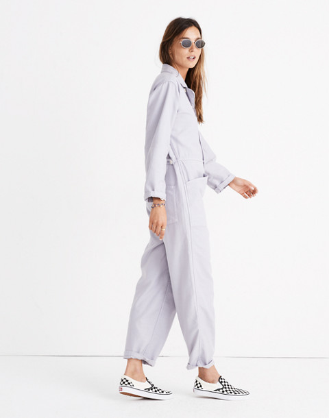 Madewell x As Ever™ Coveralls in violet tint image 2