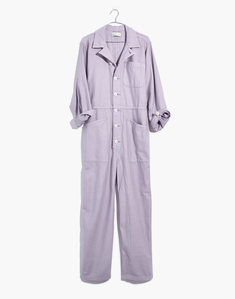 Madewell x As Ever™ Coveralls in violet tint image 4