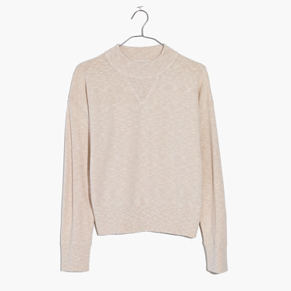 Relaxed Mockneck Sweater