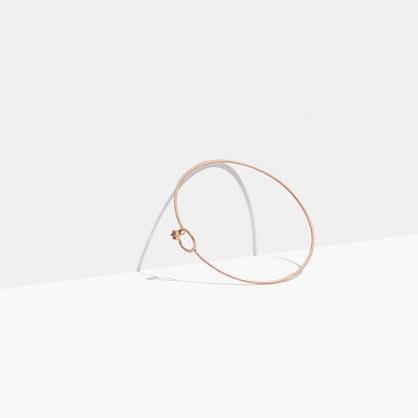 Tiny Jewels Circle Bangle Bracelet